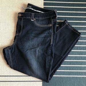 Dark Wash 24 Short Jegging